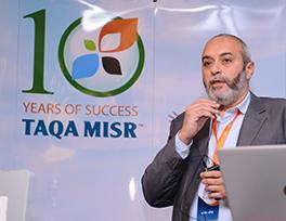 Mr. Khaled Aref, CEO TAQA Misr